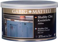 Gäbig + Mätteli Shabby Chic Altblau 375 ml