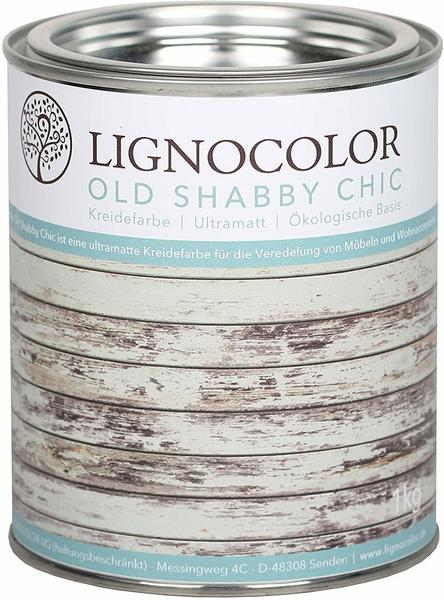 Lignocolor Old Shabby Chic Kreidefarbe Vintage Blue