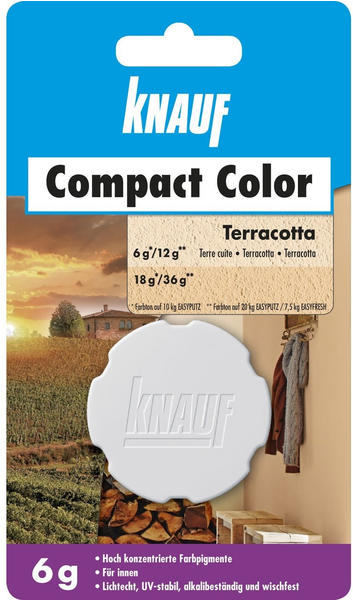 Knauf Bauprodukte Compact Color terracotta 6g (00146588)