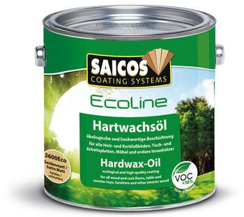 Saicos Ecoline Hartwachsöl, seidenmatt 2,5l