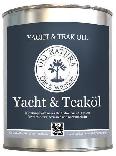 Oli Lacke Yacht & Teaköl 1 L natur