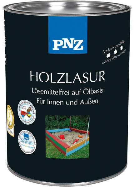 PNZ Holz-Lasur: Varnishing Turquois - 0,75 Liter