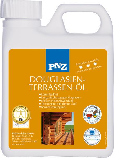 PNZ Douglasien-Terrassen-Öl: naturgetönt - 1 Liter