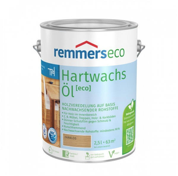 Remmers eco Hartwachs-Öl intensiv weiß 0,75L
