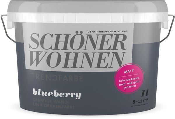 Schöner Wohnen Trendfarbe 1 l Blueberry matt
