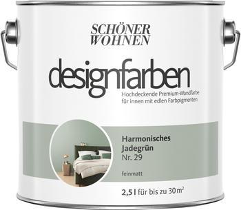 Schöner Wohnen Designfarbe Harmonisches Jadegrün feinmatt 2,5 l