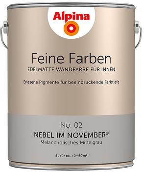 Alpina Feine Farben 5 l Nebel im November