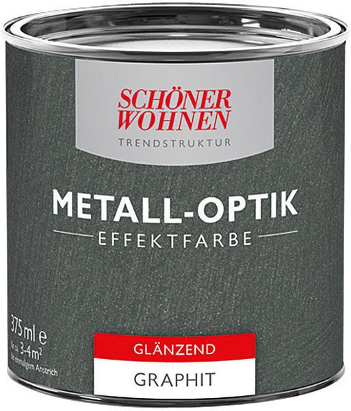 Schöner Wohnen Metall-Optik Effektfarbe 375 ml Graphit