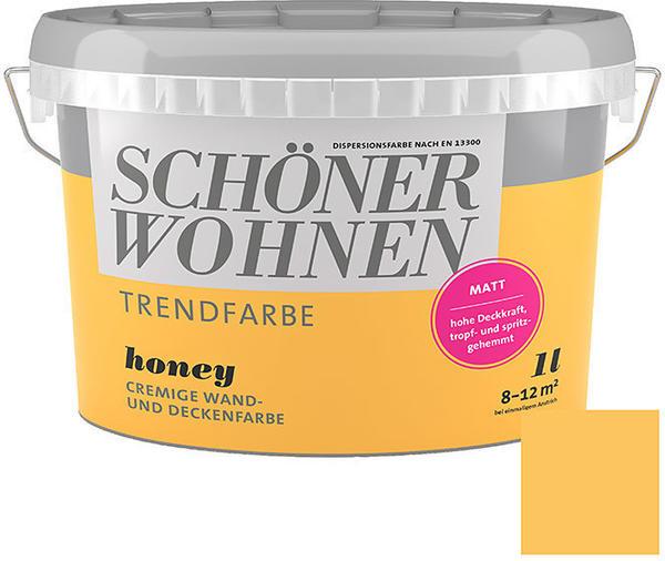 Schöner Wohnen Trendfarbe 1 l Honey
