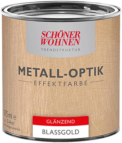 Schöner Wohnen Metall-Optik Effektfarbe 375 ml Blassgold