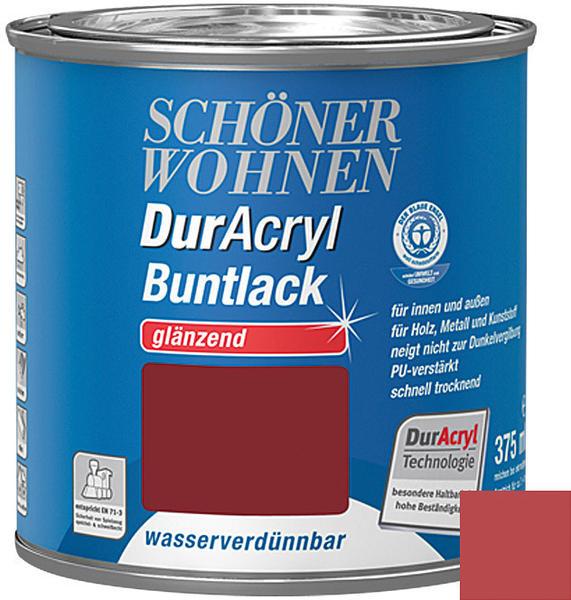 Schöner Wohnen DurAcryl Buntlack glänzend 375 ml Rubinrot