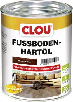CLOU Fussboden-Hartöl 0,75 l Eiche rustikal