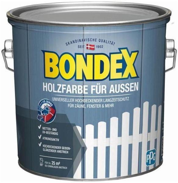 Bondex 435472 Holzfarbe für Aussen 2,5 l schwedenrot