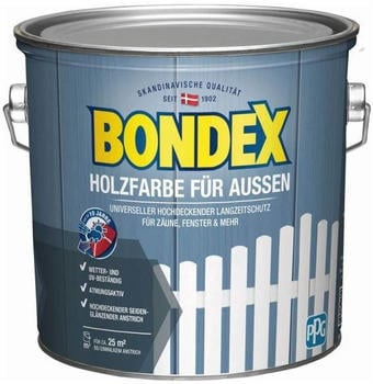 Bondex Holzfarbe für Aussen 2,5 l anthrazit