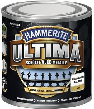 Hammerite Ultima 250 ml verkehrsweiß matt