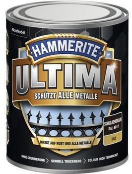 Hammerite Ultima 750 ml schokoladenbraun matt