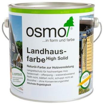 Osmo Landhausfarbe 5 l Weiß