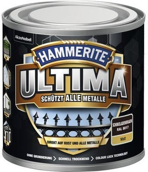 Hammerite Ultima 250 ml schokoladenbraun matt