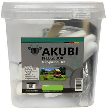 Akubi Pflegebox für Spielhäuser 750 ml Apfelgrün