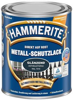 Hammerite Metallschutzlack glänzend 750 ml Anthrazitgrau