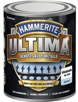 Hammerite Ultima 750 ml verkehrsweiß glänzend