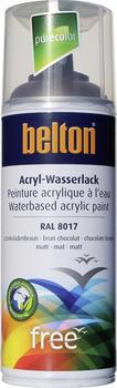 belton free PU Wasserlack 400 ml Schokobraun matt