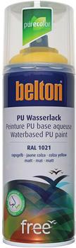 belton-free-pu-wasserlack-400-ml-rapsgelb-matt