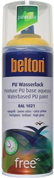 belton-free-pu-wasserlack-400-ml-rapsgelb