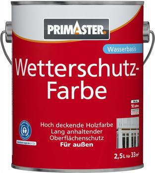 PRIMASTER Wetterschutzfarbe 2,5 l gelb