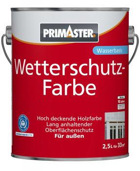 PRIMASTER Wetterschutzfarbe 2,5 l braun