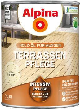 Alpina Terrassen-Pflege seidenmatt 2,5 l farblos