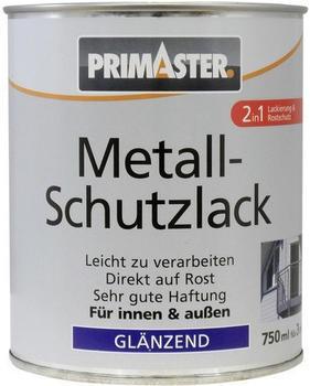 PRIMASTER Metall-Schutzlack 750 ml tiefschwarz glänzend