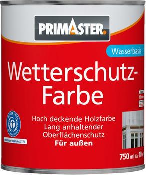 PRIMASTER Wetterschutzfarbe SF722 750 ml schiefer