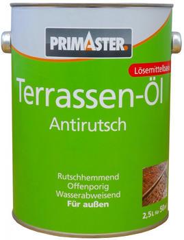 PRIMASTER Terrassen-Öl Anti Rutsch 2,5 l farblos