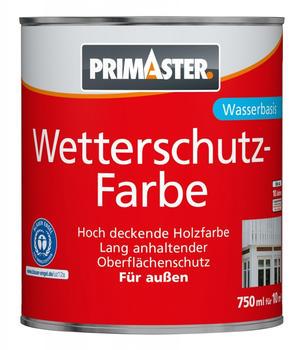 PRIMASTER Wetterschutzfarbe 750 ml braun