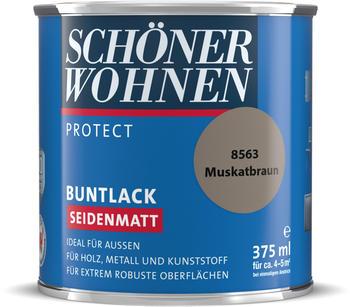 Schöner Wohnen Protect Buntlack seidenmatt muskatbraun 375ml
