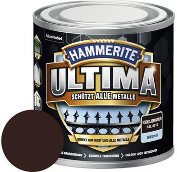 Hammerite Ultima 250 ml schokoladenbraun glänzend