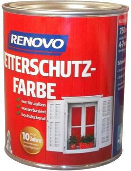 Renovo Wetterschutzfarbe 0,75 l Nr.7016 Anthrazitg.