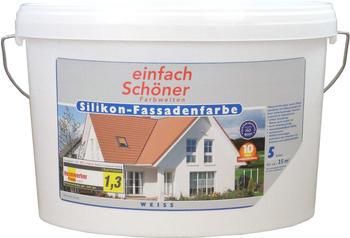 Wilckens Silikon Fassadenfarbe weiss matt 10 l (13393026_110)