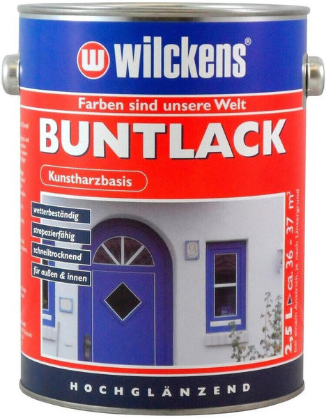 Wilckens Buntlack Feuerrot hochglänzend 2,5 l (10930000_080)