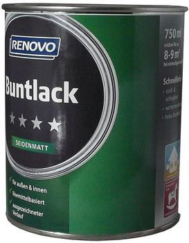 Renovo Seidenmattlack ockerbraun RAL8001 0,75 l