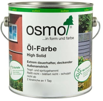 Osmo Öl-Farbe High Solid 2,5 l Nordisch Rot