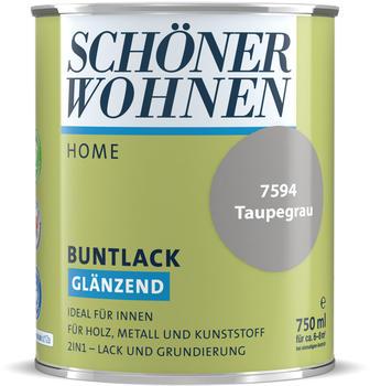 Schöner Wohnen Home Buntlack glänzend taupegrau 750 ml