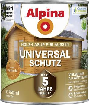 Alpina Universal-Schutz seidenmatt 750 ml Kastanie