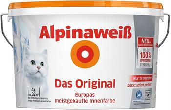 Alpina Alpinaweiß Das Original mit Spritz-Schutz-Formel 4l