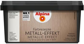 Alpina Farbrezepte Metall-Effekt 1l rosegold