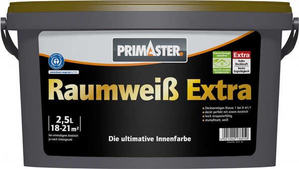 PRIMASTER Raumweiß Extra