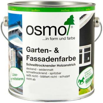 Osmo Garten und Fassadenfarbe 0,75 Liter Capriblau