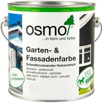 Osmo Garten und Fassadenfarbe 0,75 Liter Achatgrau