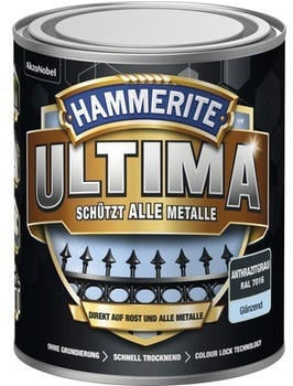 Hammerite Ultima 750 ml anthrazitgrau glänzend
